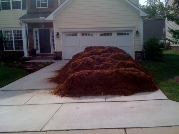 The Mulch Fairy visited!