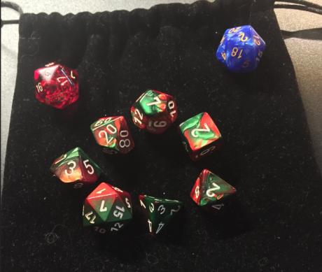 My new dice